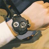 手錶 創意個性手錶男學生電子表穿越火線潮流炫酷霸氣歐美大表盤潮男表-炫科技