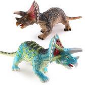 大號三角龍恐龍玩具霸王龍仿真動物模型腕龍軟膠塑膠男孩3-4-6歲 MKS小宅女