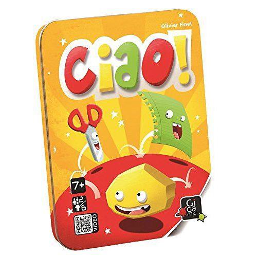 【 法國桌神 Gigamic 益智遊戲 】Ciao! 剪刀石頭布 GIG047