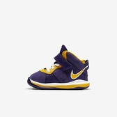 Nike Lebron Viii (td) [CT5116-500] 小童鞋 籃球鞋 運動 休閒 保護 魔鬼氈 紫 金