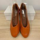 百搭尖頭鞋純色工作鞋低跟鞋(36-40號...