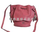 雪黛屋~COACH 水桶包小容量束口型設計主袋國際正版保證進口防水防刮皮革品證購證塵套提袋C575431