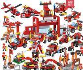 積高積木男孩子玩具拼裝3-6軍事航母7兒童益智力8-10周歲【快速出貨】
