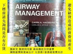 二手書博民逛書店Hagberg罕見and Benumof s Airway Management, 4eY19139 Cari