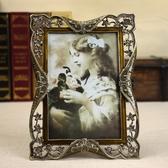 家居-相冊復古奢華歐式相框擺台7寸6寸六七寸 婚紗照照片框相架可掛牆