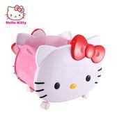 Hello Kitty 造型玩具收納籃 附輪及把手設計 方便推拉【成長天地】