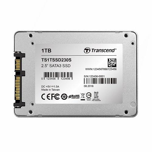 【綠蔭-免運】創見 SSD 230S系列-1TB 固態硬碟 (SATA3)