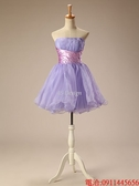 (45 Design)  7天到貨短款禮服婚紗禮服伴娘服 洋裝晚禮服 結婚 訂婚澎短裙  大小可做