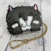 BRAND楓月 LOUIS VUITTON 路易威登 LV M63898 貓咪 卡片夾 寵物插畫 名片夾 設計款