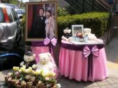 一定要幸福哦~~ 婚禮佈置,包套專案5000元會場佈置,浪漫型婚禮氣球佈置