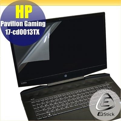 【Ezstick】HP Gaming 17-cd0026TX 靜電式筆電LCD液晶螢幕