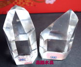 『晶鑽水晶』巴西天然白水晶柱72x42mm超白亮透!送禮物佳選90.91號*免運費