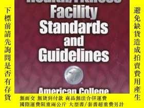 二手書博民逛書店Ascm s罕見Health Fitness Facility Standards and Guidelines: