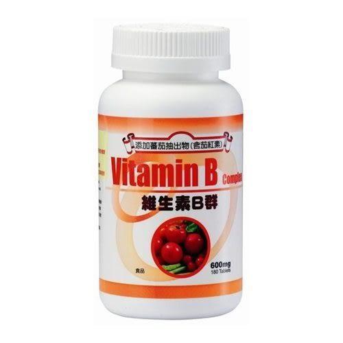 三多維生素B群(茄紅素Plus)(180錠/盒) [仁仁保健藥妝]