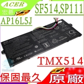 ACER 電池(原廠)-宏碁 AP16L5J,SF514電池,SF514-52,SF514-53,SP111-31N,SP111-32N,SP111-34N,TMX514-51