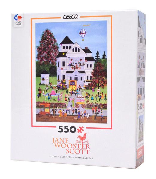 【KANGA GAMES】拼圖 Jane Wooster Scott系列 - 生日混亂 Birthday Mayhem 550片