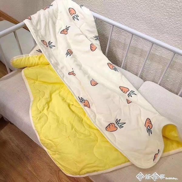 夏涼被水洗棉兒童宿舍家用菠蘿蜜空調被110X150cm 西城故事