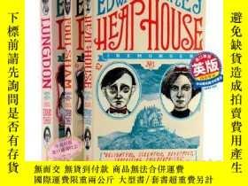 二手書博民逛書店艾爾蒙哲三部曲罕見英文原版 Heap House 廢物莊園 神祕