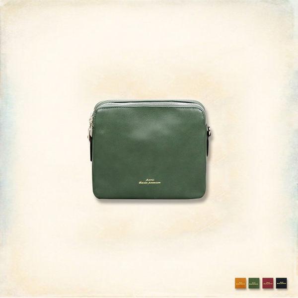 Melek 包包類 (共4色) 正品【S11170428-0101~04】女斜背包雙拉鍊款 雙層/側背包