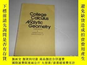 二手書博民逛書店College罕見Calculus with Analytic