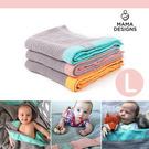 Mama Designs 英國100%棉織透氣洞洞毯 (L號 120x150cm)