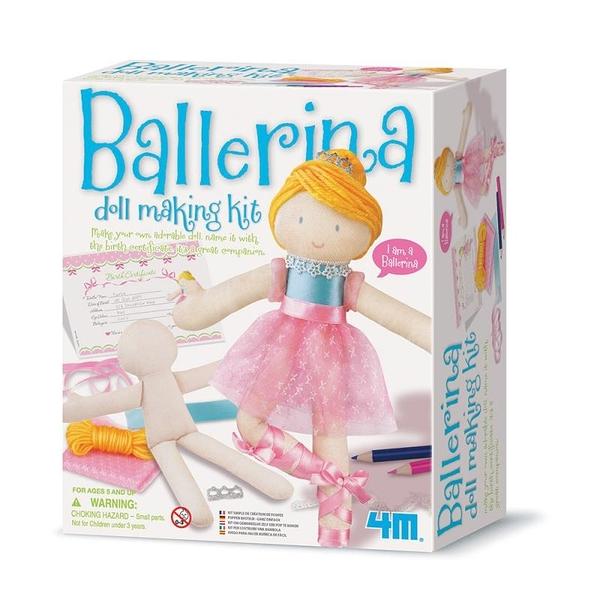 【4M】美勞創作系列-芭蕾舞者 Ballerina Doll Making Kit 00-02731