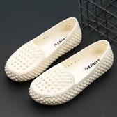 洞洞鞋 涼鞋 塑料涼鞋女軟底白色護士涼鞋防水洞洞鞋媽媽鞋防滑透氣工作涼鞋女 薇薇