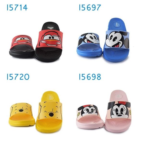 4款迪士尼兒童拖鞋 男女童拖鞋 防水拖鞋 室內室外拖鞋 麥坤維尼米奇米妮 I5714.20.5697.98 奧森