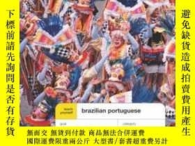 二手書博民逛書店Teach罕見Yourself Brazilian Portuguese Complete CourseY25