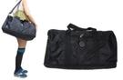~雪黛屋~biksli 旅行袋中容量可加大型旅行袋可手提可肩背可斜側背防水尼龍附活動型可調整JB606
