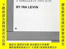 二手書博民逛書店罕見DeathtrapY364682 Ira Levin Dramatists Play Service, I