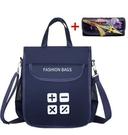 防水袋 新款防水牛津布手提包多層拉鏈文件袋A4包學生書袋手拎補習袋【快速出貨八折搶購】