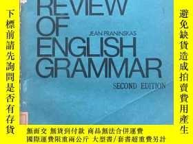 二手書博民逛書店(英文原版)罕見Rapid Review of English