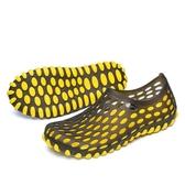 夏季透氣洞洞鞋女沙灘鞋防滑輕便鳥巢拖鞋戶外速干涉水鞋女度假鞋