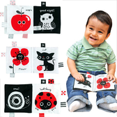 【香港 Ks Kids 奇智奇思】學習布書系列-黑白紅 Black and White and sometimes Red SB00225