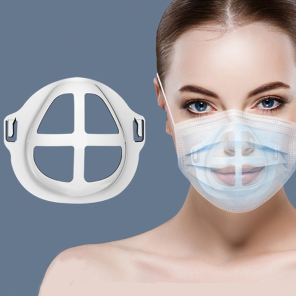 3D立體防悶口罩支架 防水透氣口罩支撐內墊【庫奇小舖】