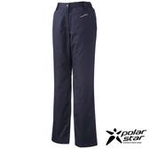 PolarStar 防潑水保暖長褲 女 深藍 P14414