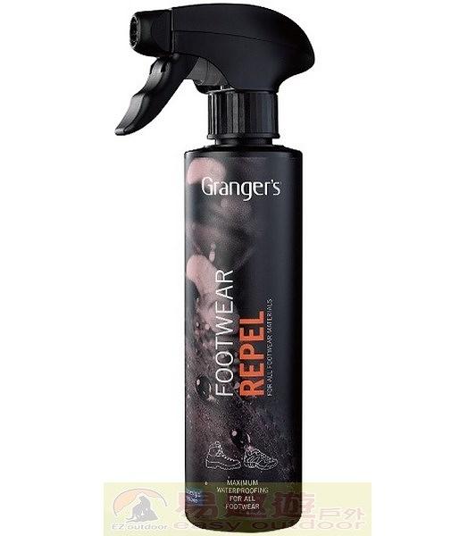 Granger's 英國 鞋類通用抗水噴劑 275ml GRF76 清潔 Goretex 清洗 保養 Footwear Repel【易遨遊】