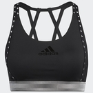ADIDAS DON'T REST 女裝 運動內衣 慢跑 訓練 可拆卸杯墊 黑【運動世界】GL0580