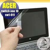 【Ezstick】ACER Switch One 10 SW1-011 靜電式平板LCD液晶螢幕貼 (可選鏡面或霧面)