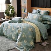 義大利La Belle《如夢香韻》雙人天絲四件式防蹣抗菌吸濕排汗兩用被床包組