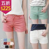 【五折價$225】糖罐子純色口袋短褲→現貨【KK5194】