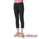 『VENUM旗艦店』【wildland 荒野】女 彈性時尚抗UV八分褲『深灰』0A91371