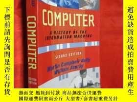 二手書博民逛書店Computer:罕見A History of the Info