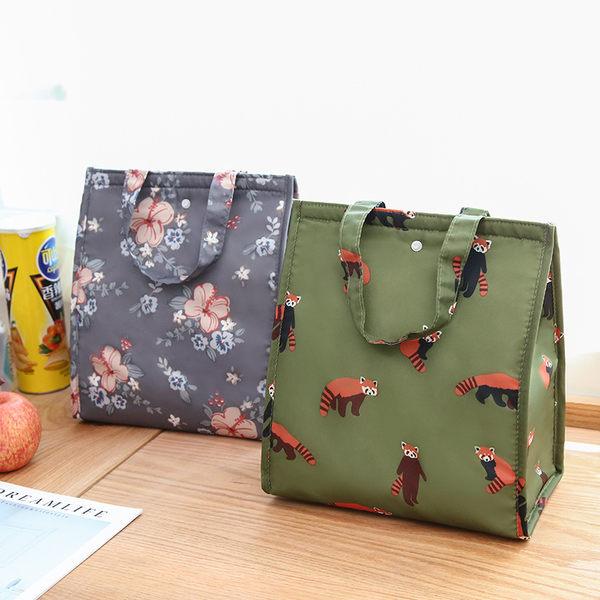 ◄ 生活家精品 ►【Z146】保溫加厚手提便當袋 防水 可折疊 便當包 飯盒袋 保溫袋 保冷袋 飯包