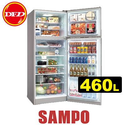 SAMPO 聲寶 SR-A46D 變頻冰箱系列 460L 高效能壓縮機 高效能DC風扇 公司貨 SRA46D ※運費另計(需加購)
