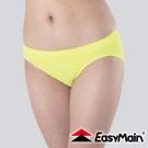 【EasyMain 無縫高彈性快乾輕柔內褲《蘋果綠》】YE00009-43/排汗機能/運動內褲/透氣快乾/三角褲
