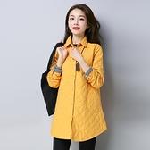 長袖襯衫-簡約純色百搭流行休閒女上衣3色73py12【巴黎精品】