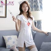 霏慕情趣內衣性感清純護士服制服角色扮演激情用品套裝女7903