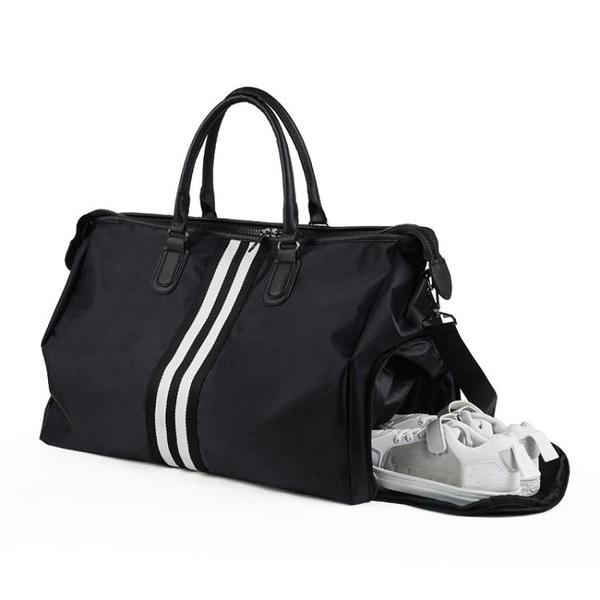 大容量包包 手提旅行包男潮短途出差旅遊大容量輕便行李袋女防水單肩包健身包【快速出貨】